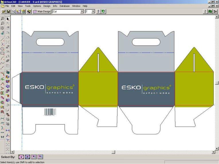 Sử dụng phần mềm Artioscad làm khuôn bế trong ngành bao bì giấy